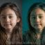 Virages colorés dans les tons sombres et les tons clairs d'un portrait photo