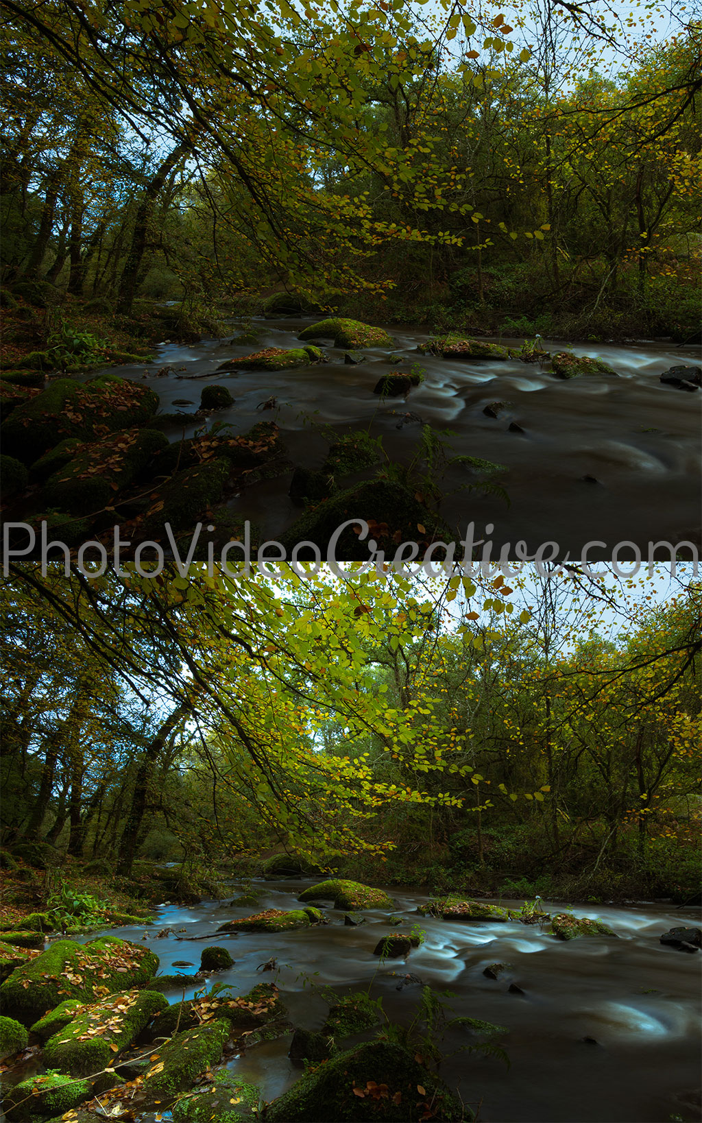Local high key tonalities applied at photo development - Before and After