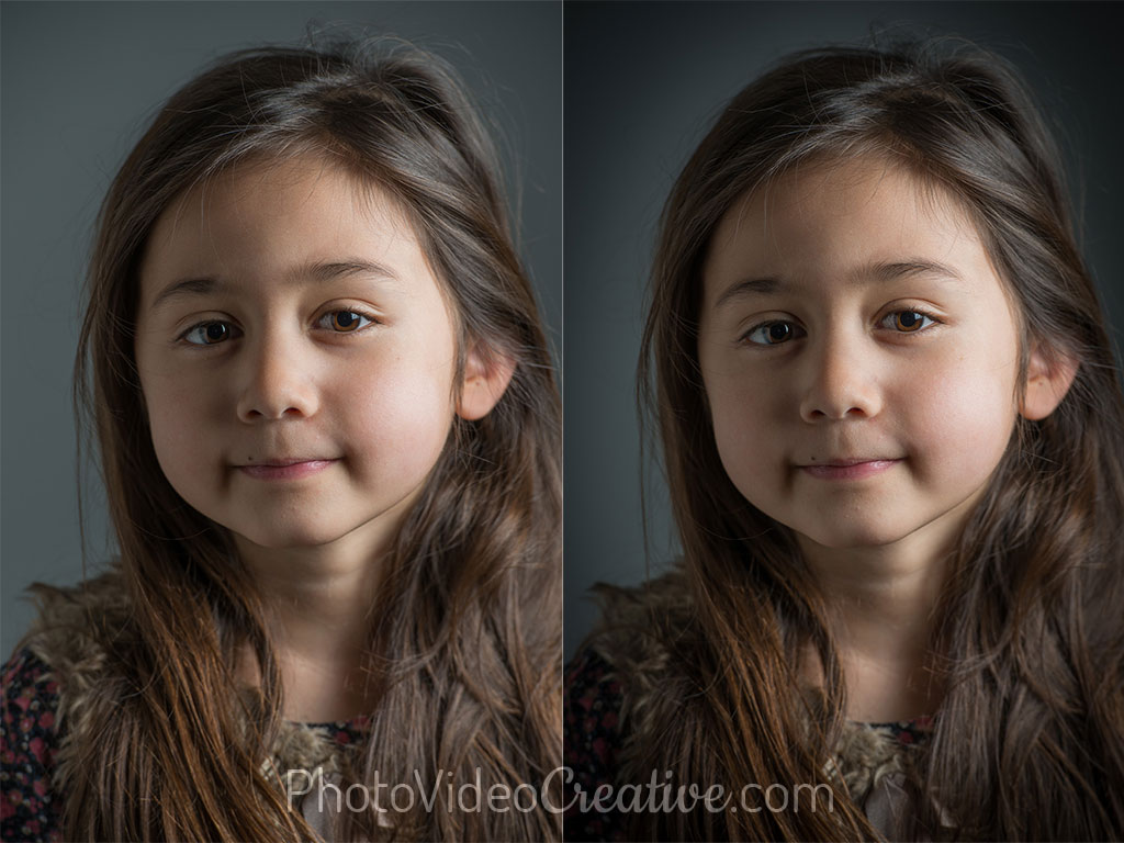 Vignette application at photo development - Before and After