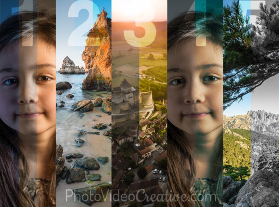 5 techniques for developing colors in photos